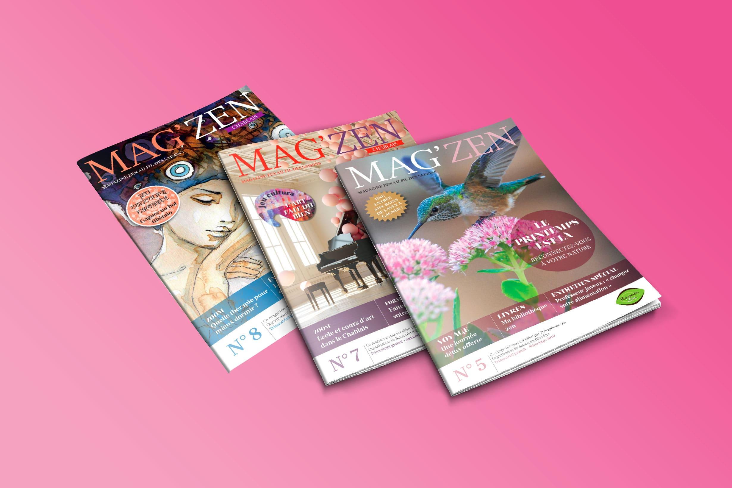 Magazine-magzen